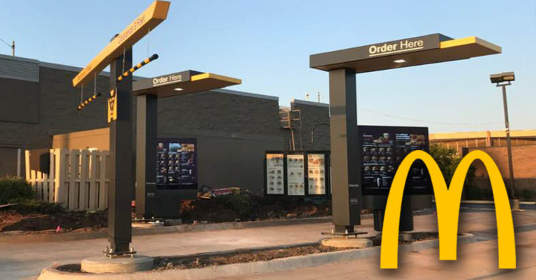 McDonald's will upgrade all drive thru to all digital units