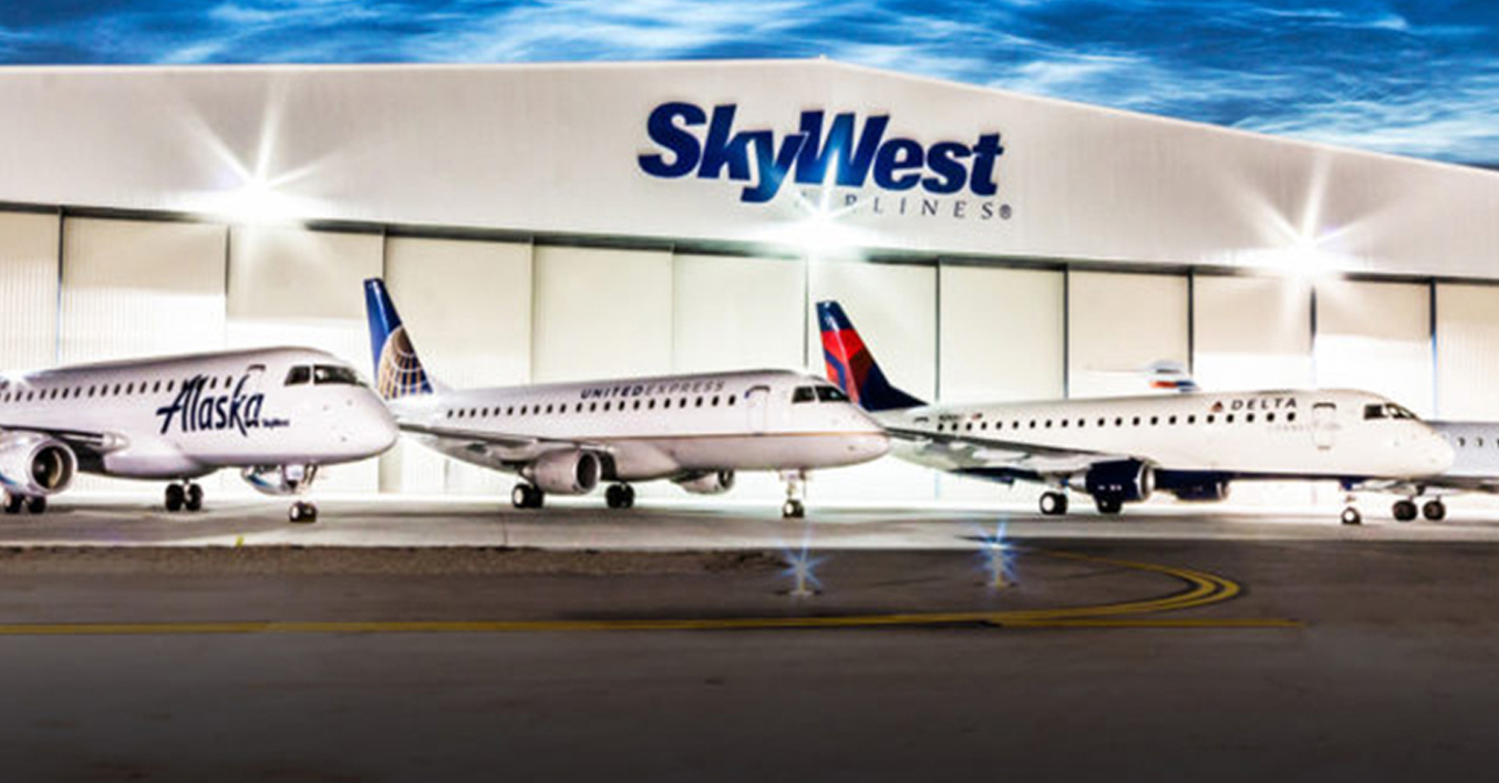 Skywest Airlines Awards Signage Contract To Blue Diamond Signs Blue Diamond Signs