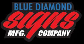 Blue Diamond Signs